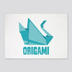 Origami 5'x7'Area Rug