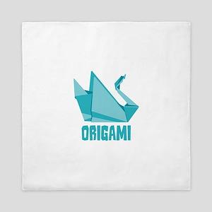 Origami Queen Duvet