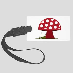 Mushroom Luggage Tag