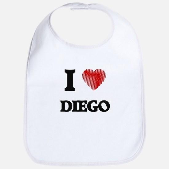 I love Diego Bib