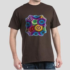 Colorful Circles Dark T-Shirt