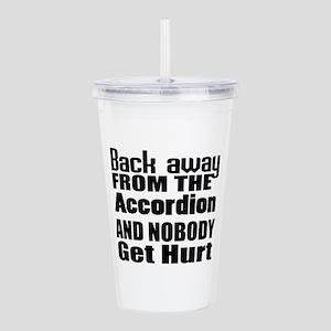 Accordion And Nobody G Acrylic Double-wall Tumbler