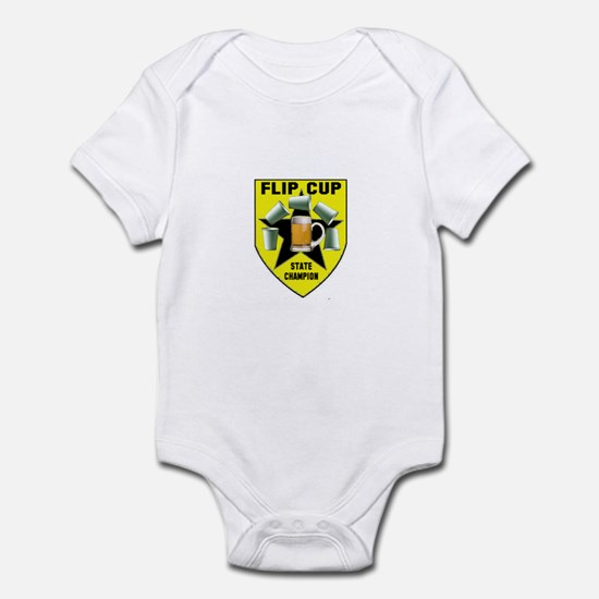 Flip Cup State Champion Infant Bodysuit
