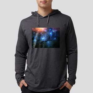 Magical Castle in Twilight Long Sleeve T-Shirt