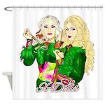 Green Goddesses - Shower Curtain