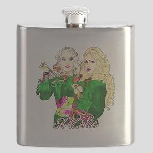 Green Goddesses - Flask