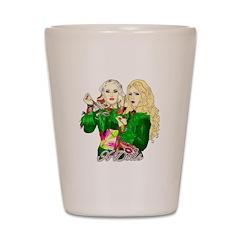 Green Goddesses - Shot Glass