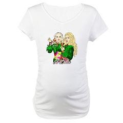 Green Goddesses - Maternity T-Shirt