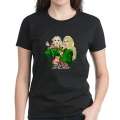 Green Goddesses - Women's Dark T-Shirt
