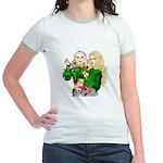 Green Goddesses - Jr. Ringer T-Shirt