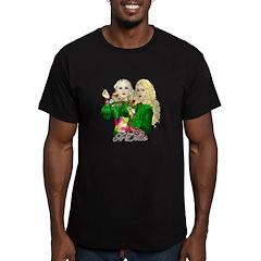 Green Goddesses - Men's Fitted T-Shirt (dark)