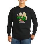 Green Goddesses - Long Sleeve Dark T-Shirt