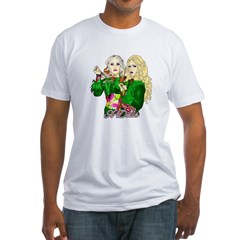 Green Goddesses - Fitted T-Shirt
