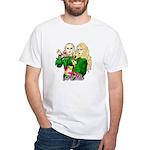 Green Goddesses - White T-Shirt