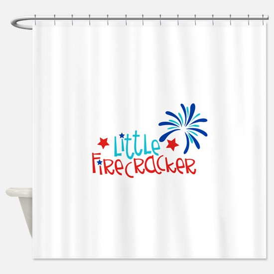 Little Firecracker Shower Curtain