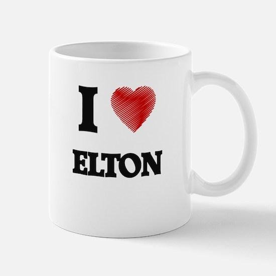 I love Elton Mugs