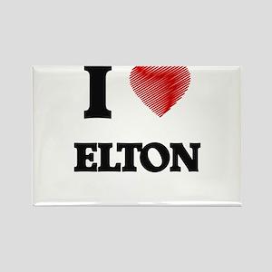 I love Elton Magnets