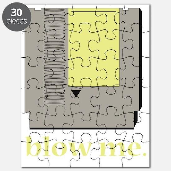 Cute Blow me Puzzle