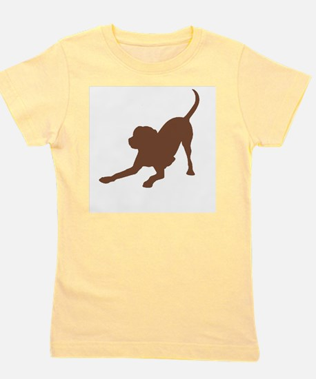 Lab 1 brown Girl's Tee