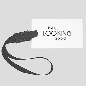 Hey Good Looking Luggage Tag