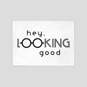 Hey Good Looking 5'x7'Area Rug