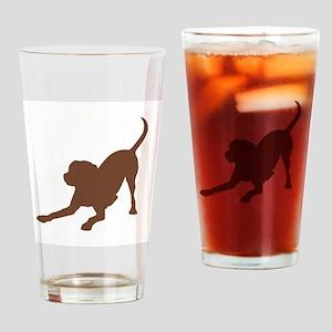 Lab 1C Brown Drinking Glass