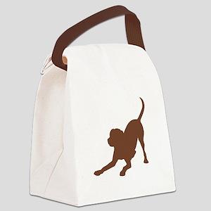 Lab 1C Brown Canvas Lunch Bag