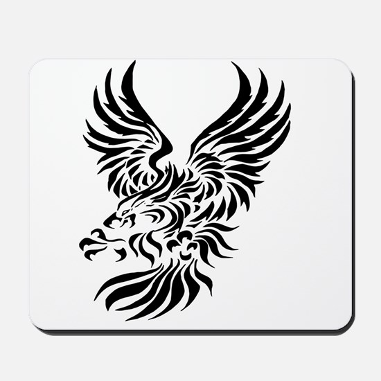 Tribal Eagle Mousepad