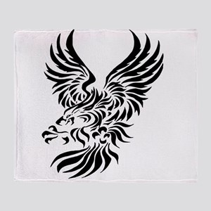 Tribal Eagle Throw Blanket