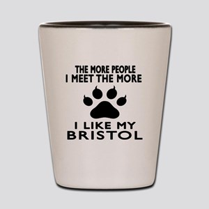 I Like My Bristol Cat Shot Glass