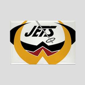Manitoba Jets Rectangle Magnet