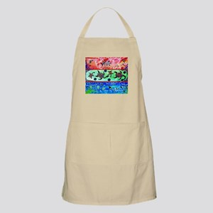Rainbow Dolphins & Turtles Apron