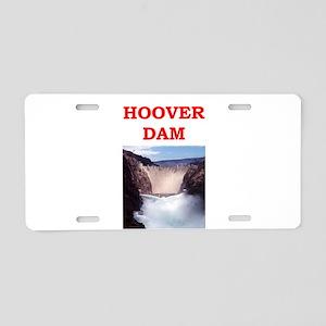 HOOVER Aluminum License Plate