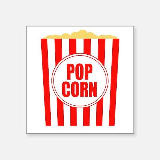 Movie Theater Popcorn Sticker