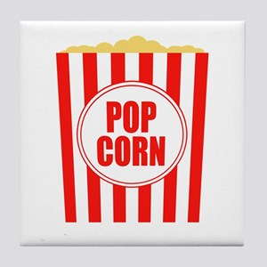 Movie Theater Popcorn Tile Coaster