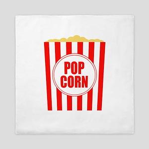 Movie Theater Popcorn Queen Duvet