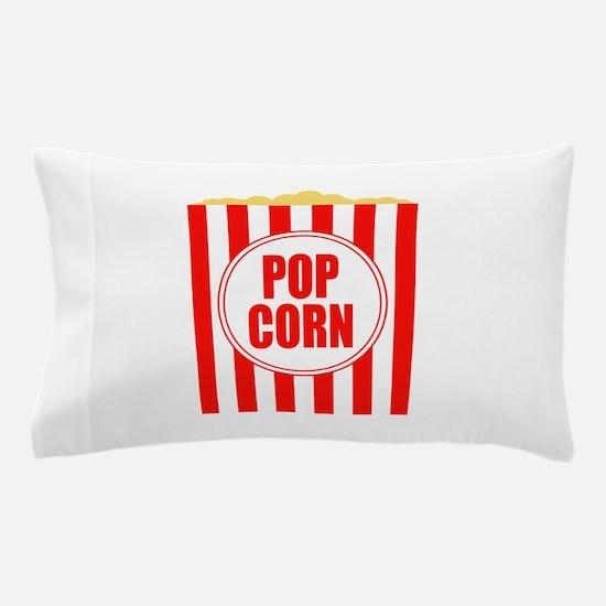 Movie Theater Popcorn Pillow Case