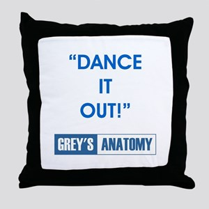 DANCE IT OUT! Throw Pillow