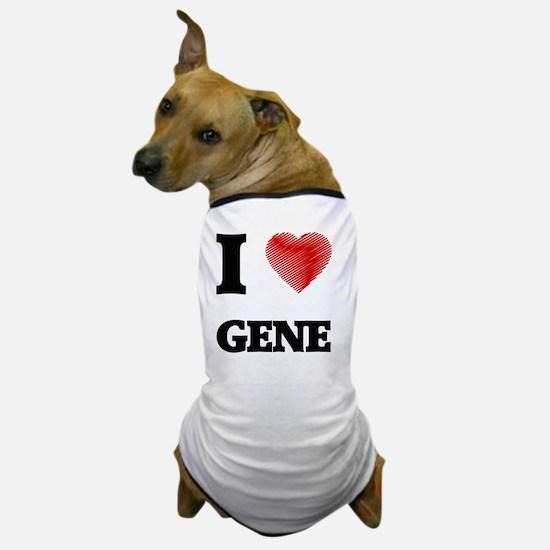 I heart gene Dog T-Shirt