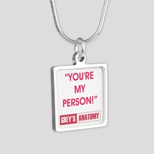 YOU'RE MY PERSON! Silver Square Necklace