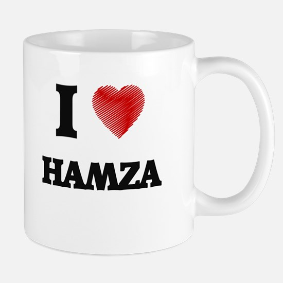 I love Hamza Mugs