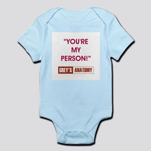 YOU'RE MY PERSON! Infant Bodysuit