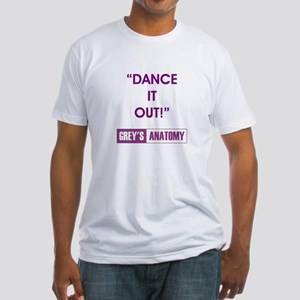 DANCE IT OUT! Fitted T-Shirt