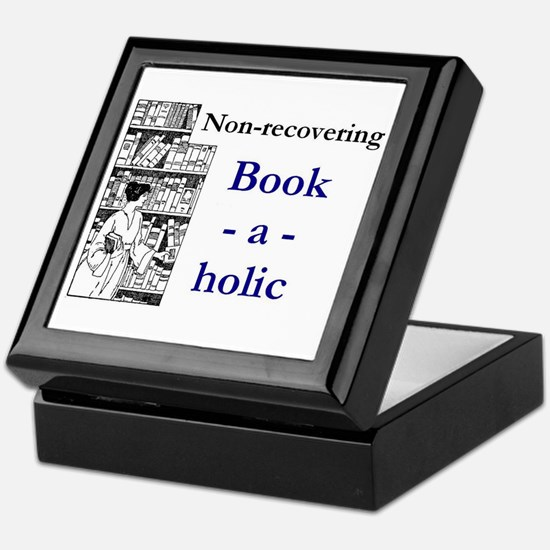 Non-recovering Book-a-holic Keepsake Box