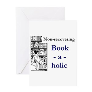 Book lovers greeting cards cafepress m4hsunfo