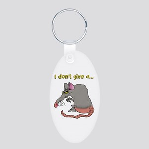 I Don't Give A Rat's... Keychains