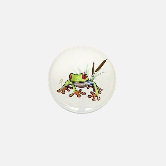"""Frog 1"" Mini Button"