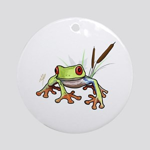 """""""Frog 1"""" Ornament (Round)"""