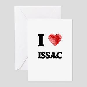 I love Issac Greeting Cards