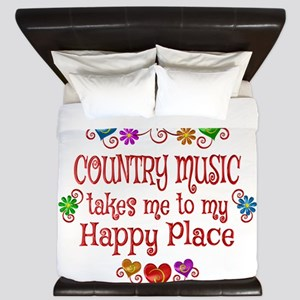 Country Happy Place King Duvet